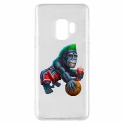 Чохол для Samsung S9 Gorilla and basketball ball