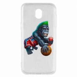 Чехол для Samsung J5 2017 Gorilla and basketball ball