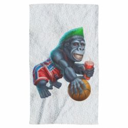Рушник Gorilla and basketball ball
