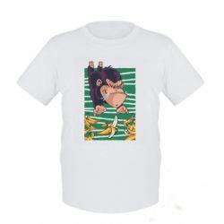 Детская футболка Горилла банана