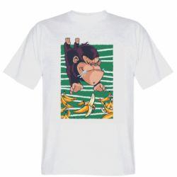 Мужская футболка Горилла банана