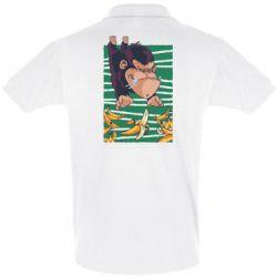 Мужская футболка поло Горилла банана