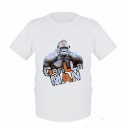 Детская футболка Горилла MAN