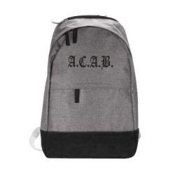 Городской рюкзак A.C.A.B. - FatLine