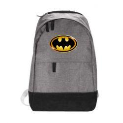 Городской рюкзак Batman logo Gold - FatLine