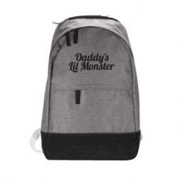 Городской рюкзак Daddy's Lil Monster - FatLine