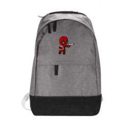Городской рюкзак Дедпул с пакетиком - FatLine
