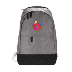 Городской рюкзак Гомер и Пончик - FatLine