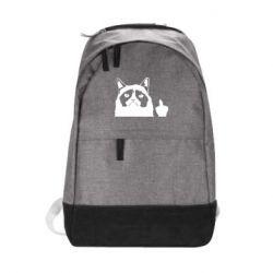 Рюкзак міський Grumpy cat F**k Off