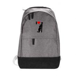Городской рюкзак I love oral - FatLine