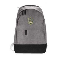 Городской рюкзак Камуфляжный герб Украины - FatLine