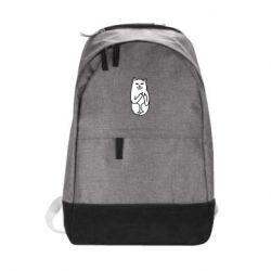 Городской рюкзак Кот с факом - FatLine