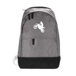 Городской рюкзак Кроссовый мотоцикл