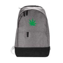 Городской рюкзак Листик марихуаны