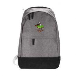 Городской рюкзак Minecraft Logo Сube - FatLine