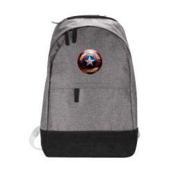 Городской рюкзак Потрескавшийся щит Капитана Америка - FatLine