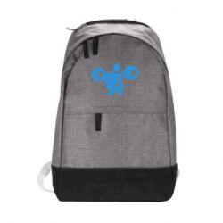 Городской рюкзак Приседания со штангой - FatLine