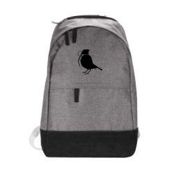 Городской рюкзак Птичка с гранатой - FatLine