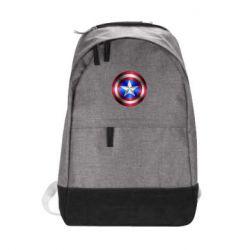 Городской рюкзак Щит Капитана Америка - FatLine
