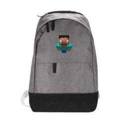 Городской рюкзак Steve from Minecraft - FatLine