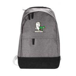 Городской рюкзак Вежливый кот - FatLine