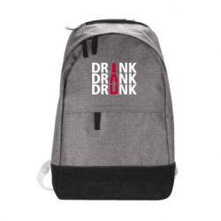 Городской рюкзак Drink Drank Drunk