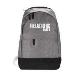 Городской рюкзак The last of us part 2 logo