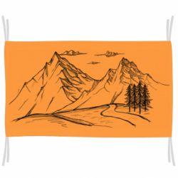 Флаг Горные красоты