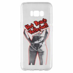 Чехол для Samsung S8+ Горячий пляжный волейбол - FatLine