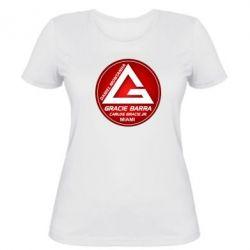 Женская футболка Gracie Barra Miami - FatLine