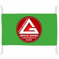 Прапор Gracie Barra Miami