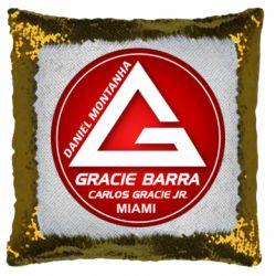Подушка-хамелеон Gracie Barra Miami