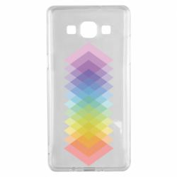 Чохол для Samsung A5 2015 Gradient color transition rhombus