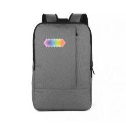 Рюкзак для ноутбука Gradient color transition rhombus