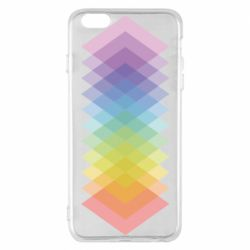 Чохол для iPhone 6 Plus/6S Plus Gradient color transition rhombus
