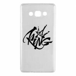 Чехол для Samsung A7 2015 Graffiti king