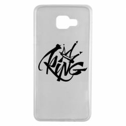 Чехол для Samsung A7 2016 Graffiti king