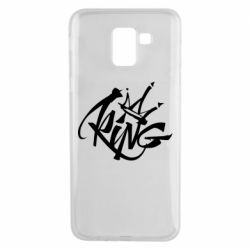 Чехол для Samsung J6 Graffiti king