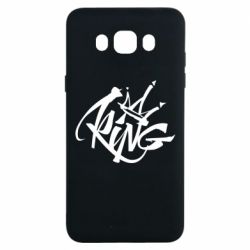 Чехол для Samsung J7 2016 Graffiti king