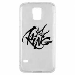 Чехол для Samsung S5 Graffiti king