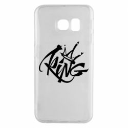 Чехол для Samsung S6 EDGE Graffiti king