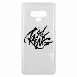 Чехол для Samsung Note 9 Graffiti king
