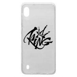 Чехол для Samsung A10 Graffiti king