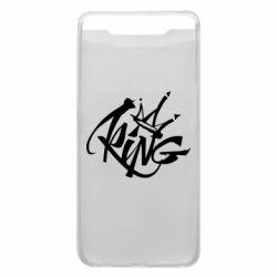 Чехол для Samsung A80 Graffiti king