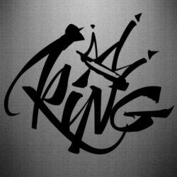 Наклейка Graffiti king