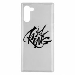 Чехол для Samsung Note 10 Graffiti king