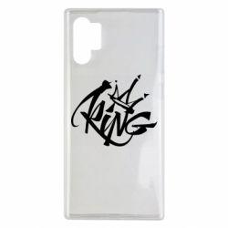 Чехол для Samsung Note 10 Plus Graffiti king