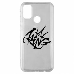 Чехол для Samsung M30s Graffiti king