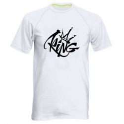 Мужская спортивная футболка Graffiti king