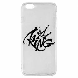 Чехол для iPhone 6 Plus/6S Plus Graffiti king